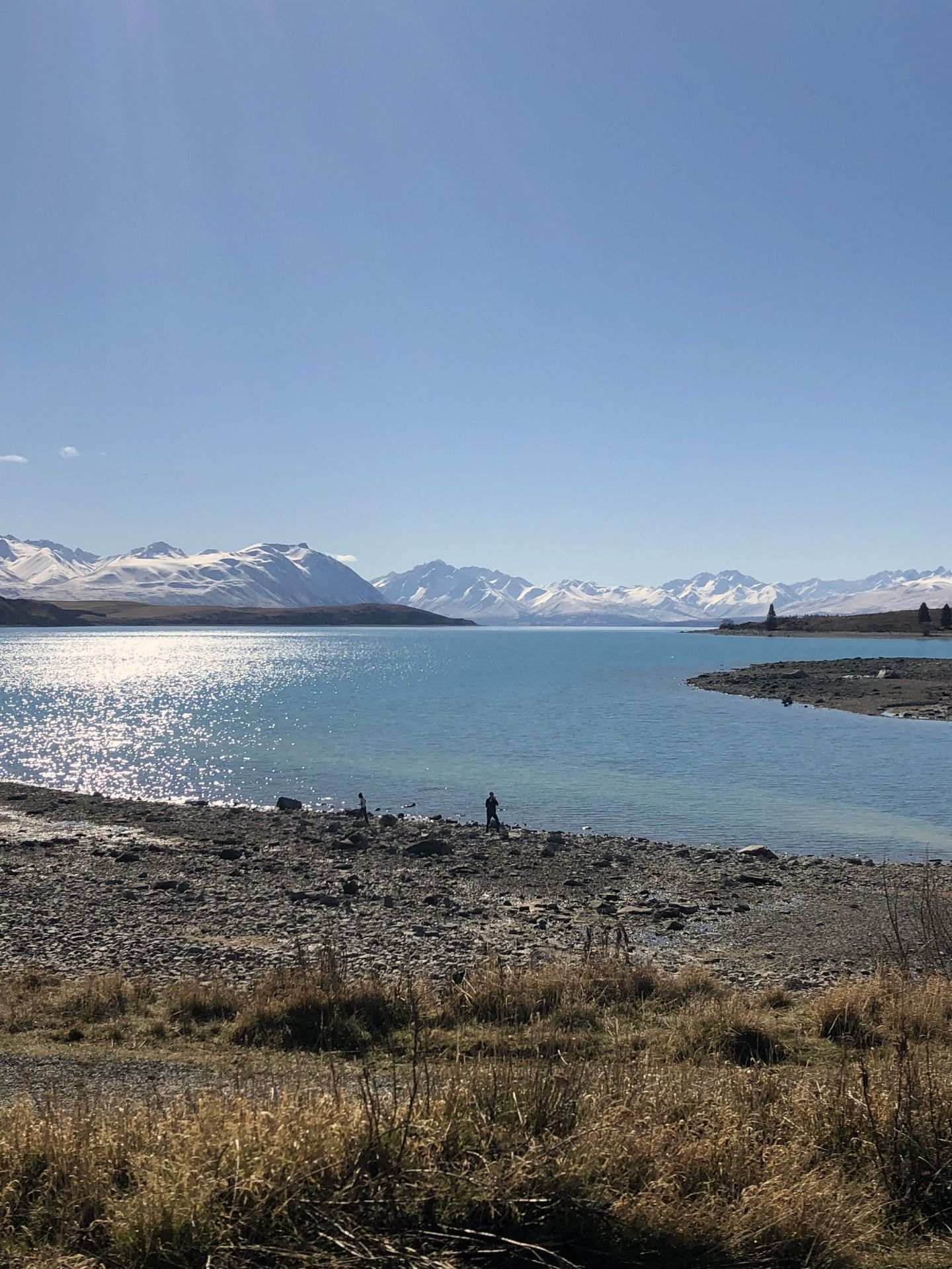 Beautiful view of Tekapo Hot Springs