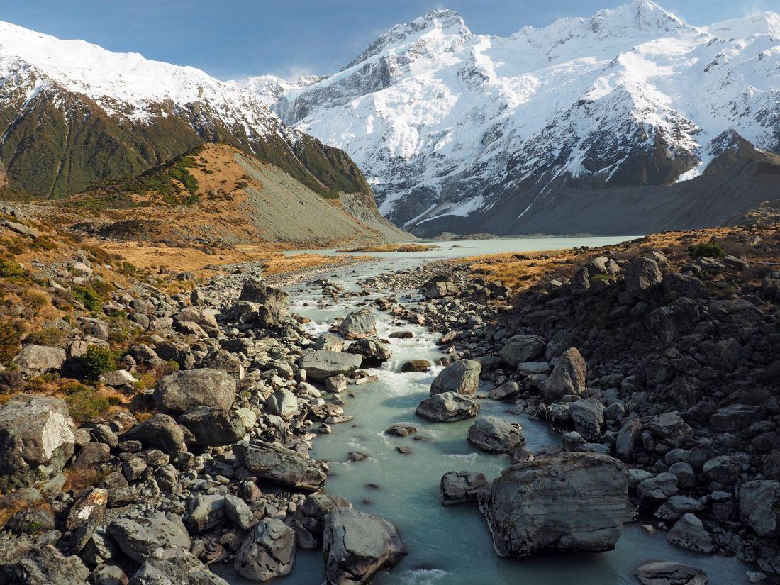 Hooker Valley Stream