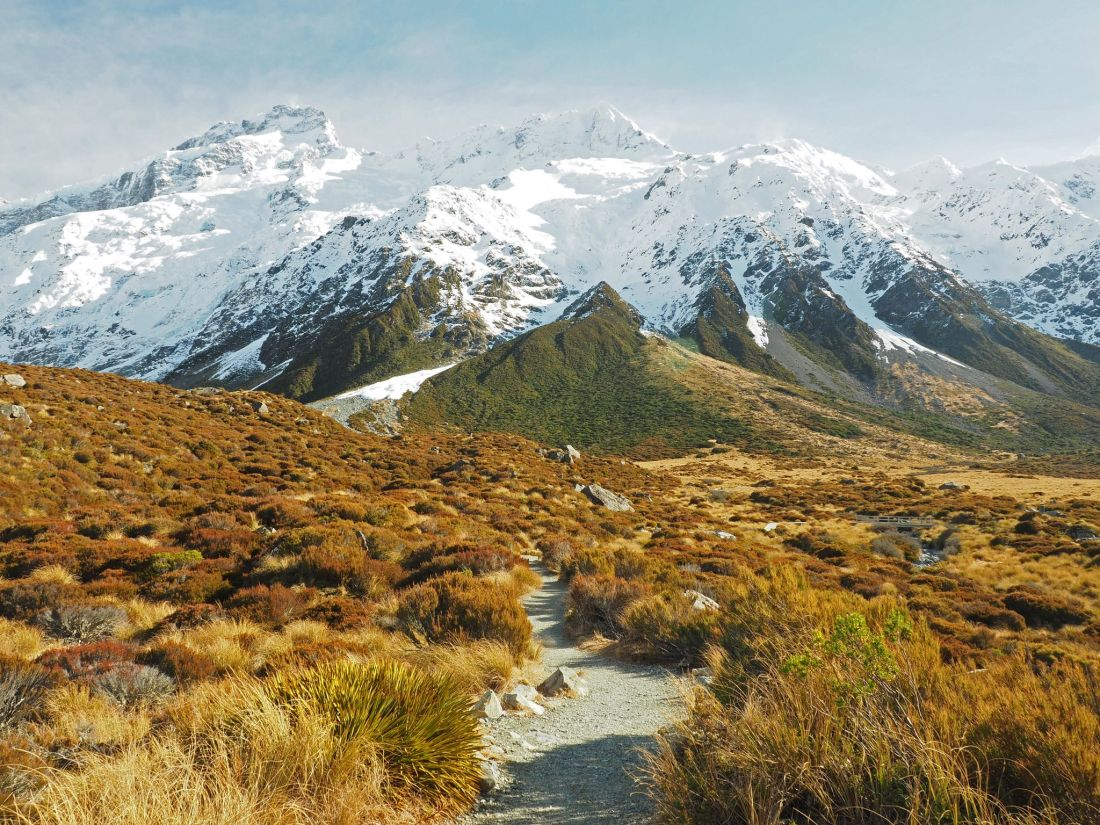 Hooker Valley Track scenery