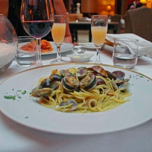 Seafood Pasta in Venice