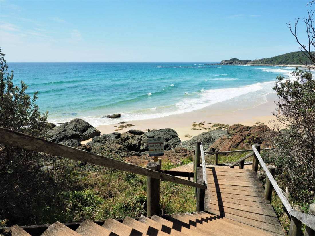 Stairs to Shelly Beach Port Macquarie