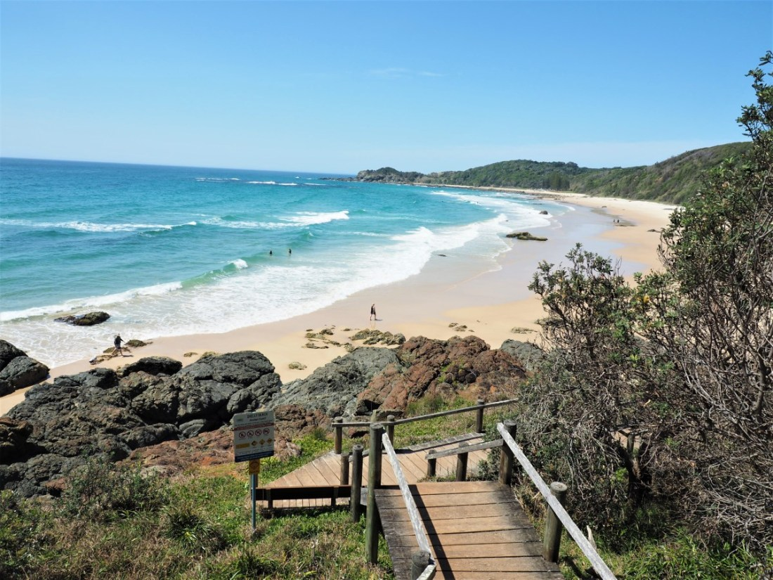 Stairs to Shelly Beach