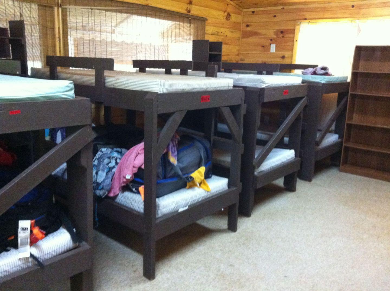 Bunks in Cabin