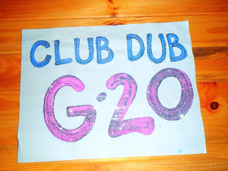G20 Camper Sign