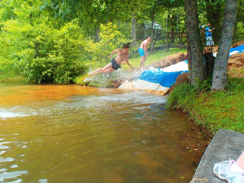 Slip and Slide Camp Blue Ridge