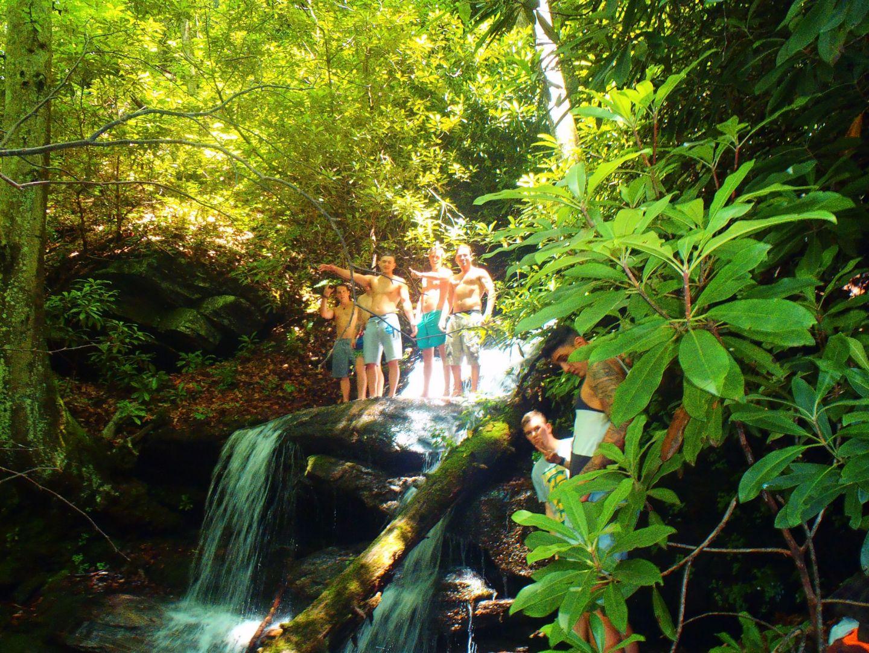 Waterfall Camp Blue Ridge