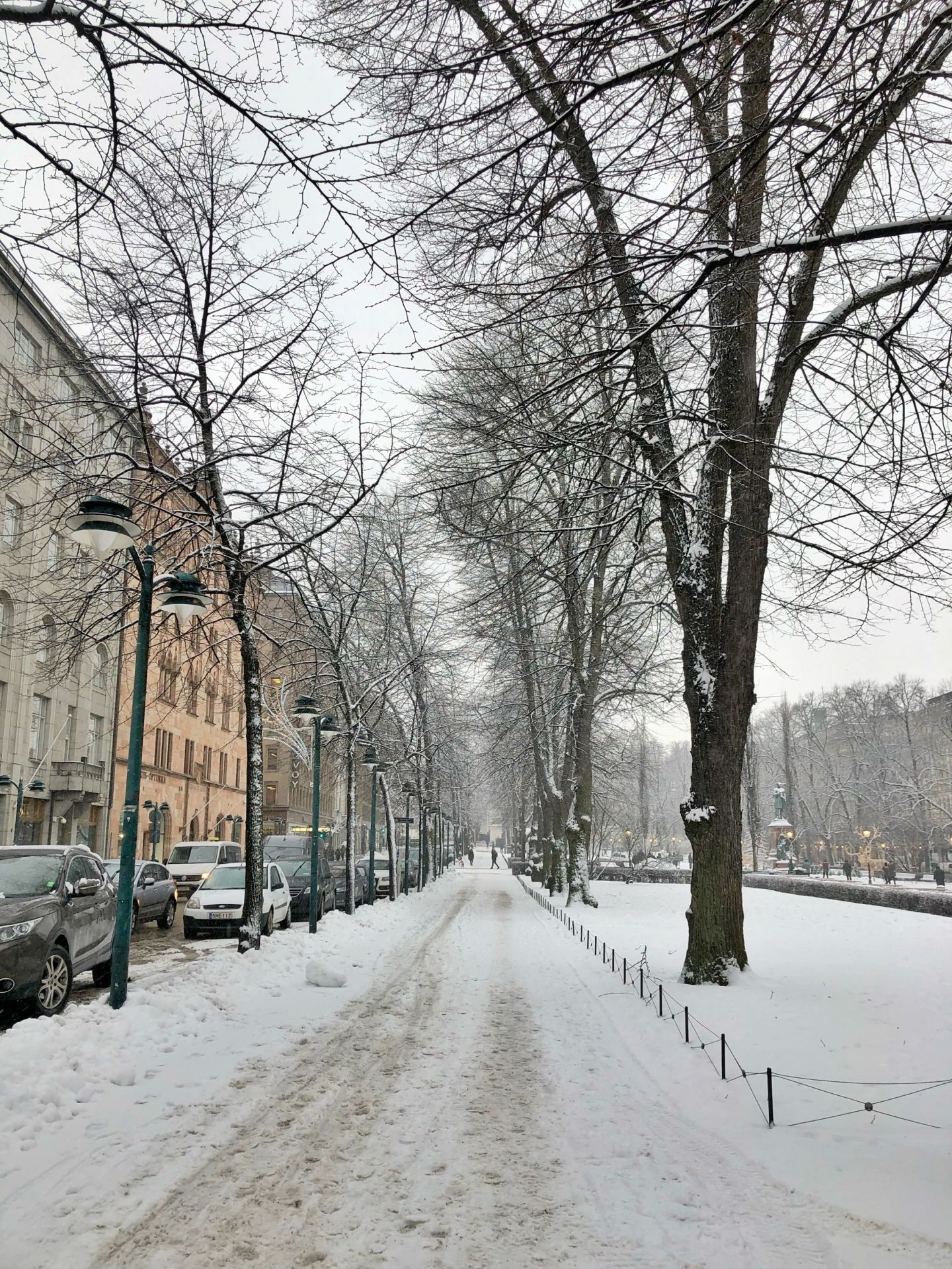 A Flying Visit to Snowy Helsinki