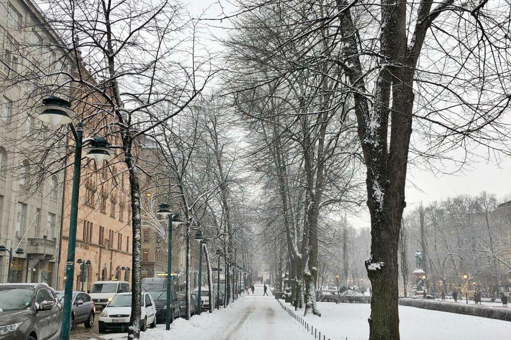Visiting Helsinki in Winter