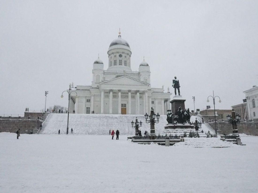 Landscape Helsinki Cathedral
