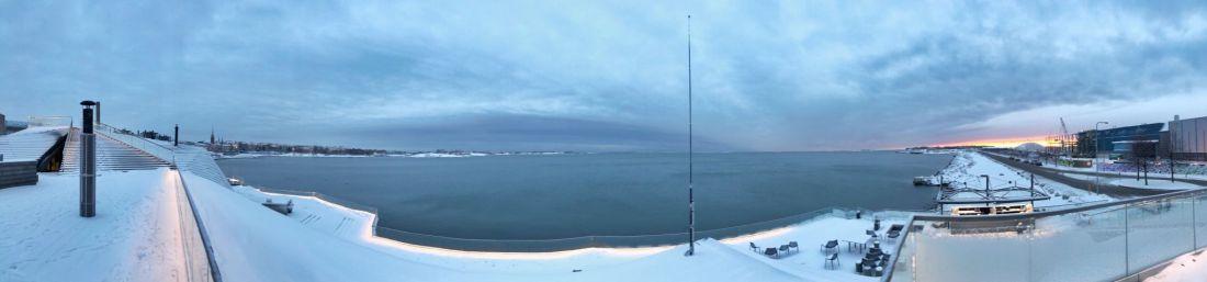View Baltic Sea Helsinki from Loyly