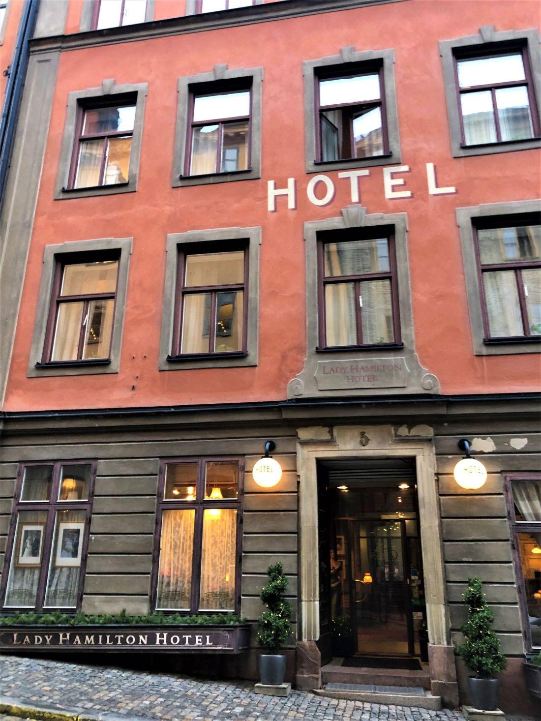 Lady Hamilton Hotel Stockholm