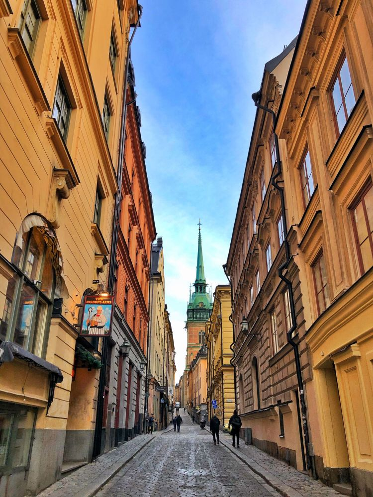 Streets of Gamla Stan Stockholm
