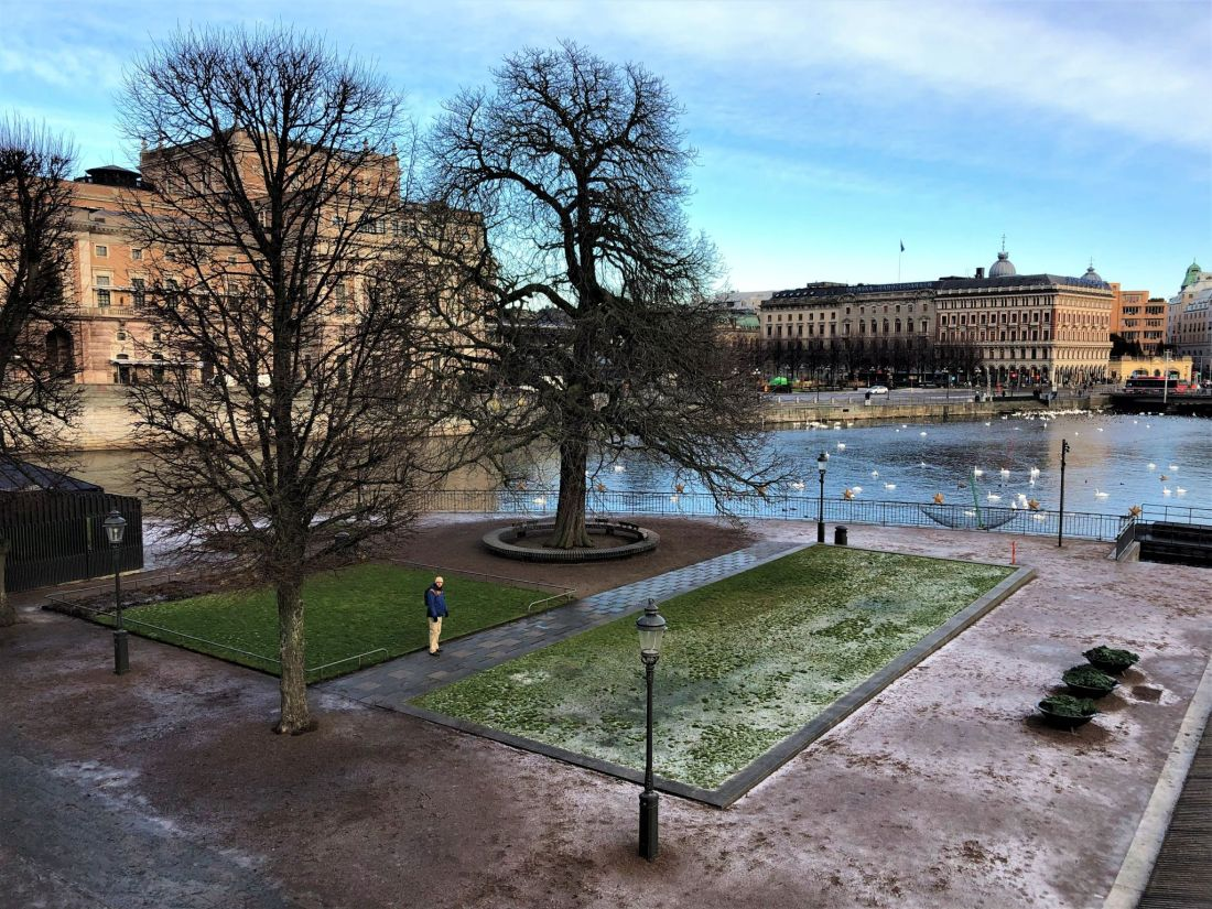 View from Royal Palace Stockholm