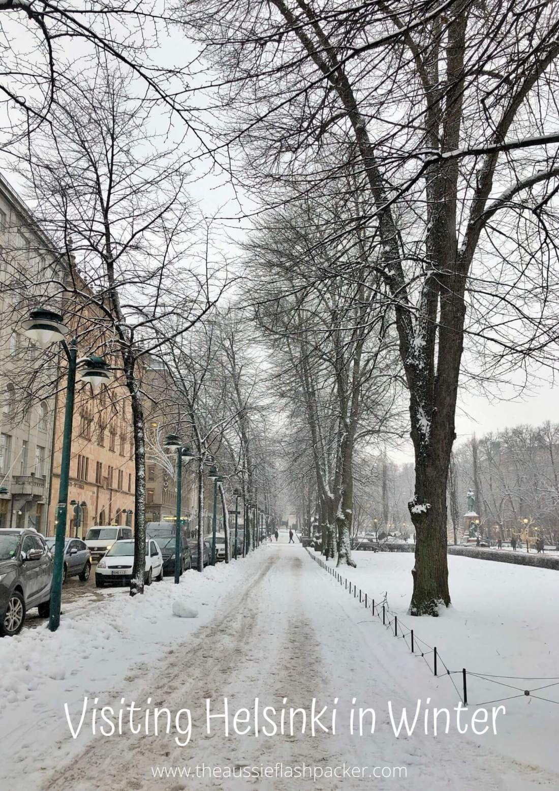 Visiting Helsinki in Winter