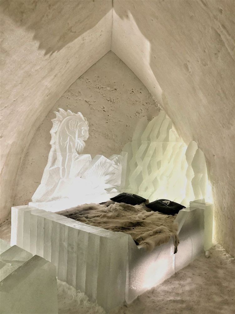 Our Snow Suite at Arctic SnowHotel Rovaniemi