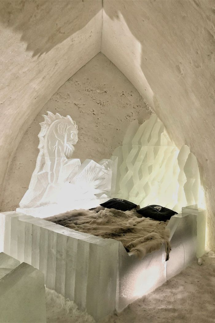 A Night at the Arctic SnowHotel in Rovaniemi
