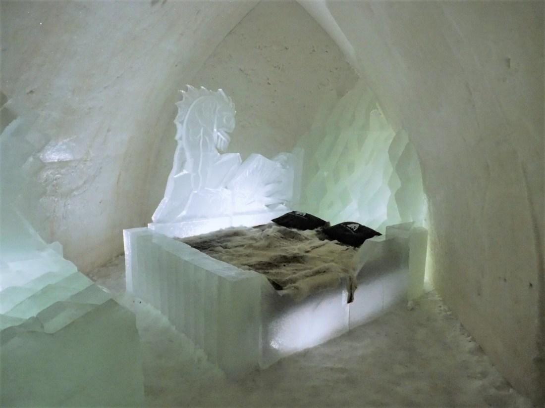 Snow suite at Arctic SnowHotel Rovaniemi