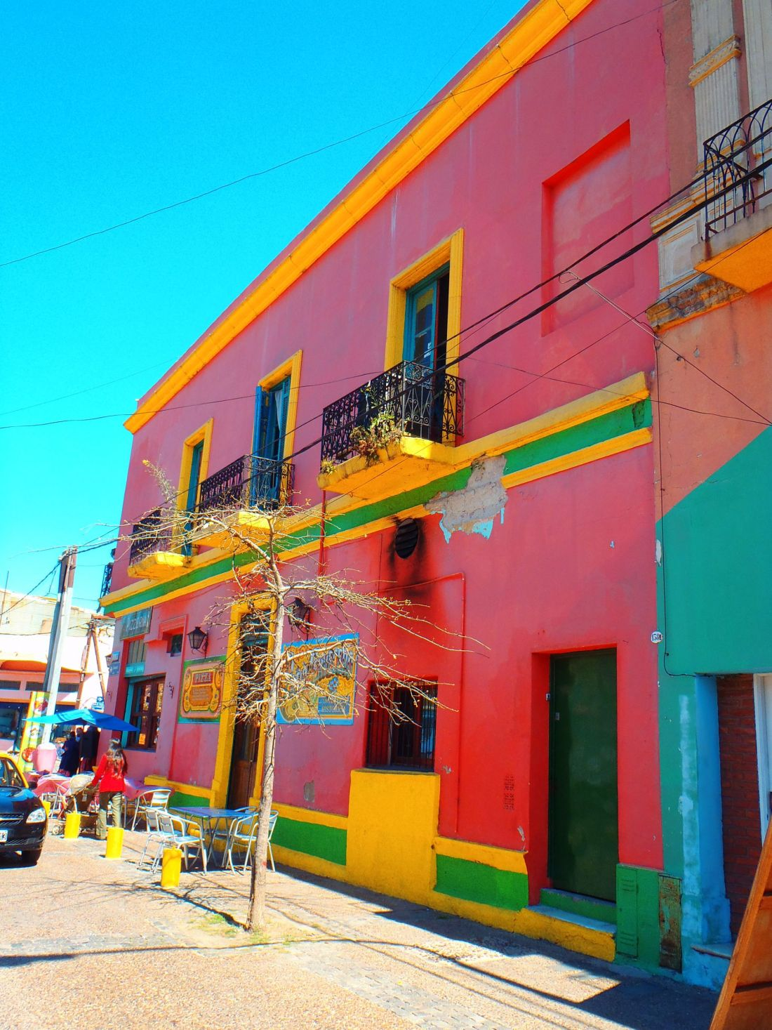 Colourful Streets La Boca