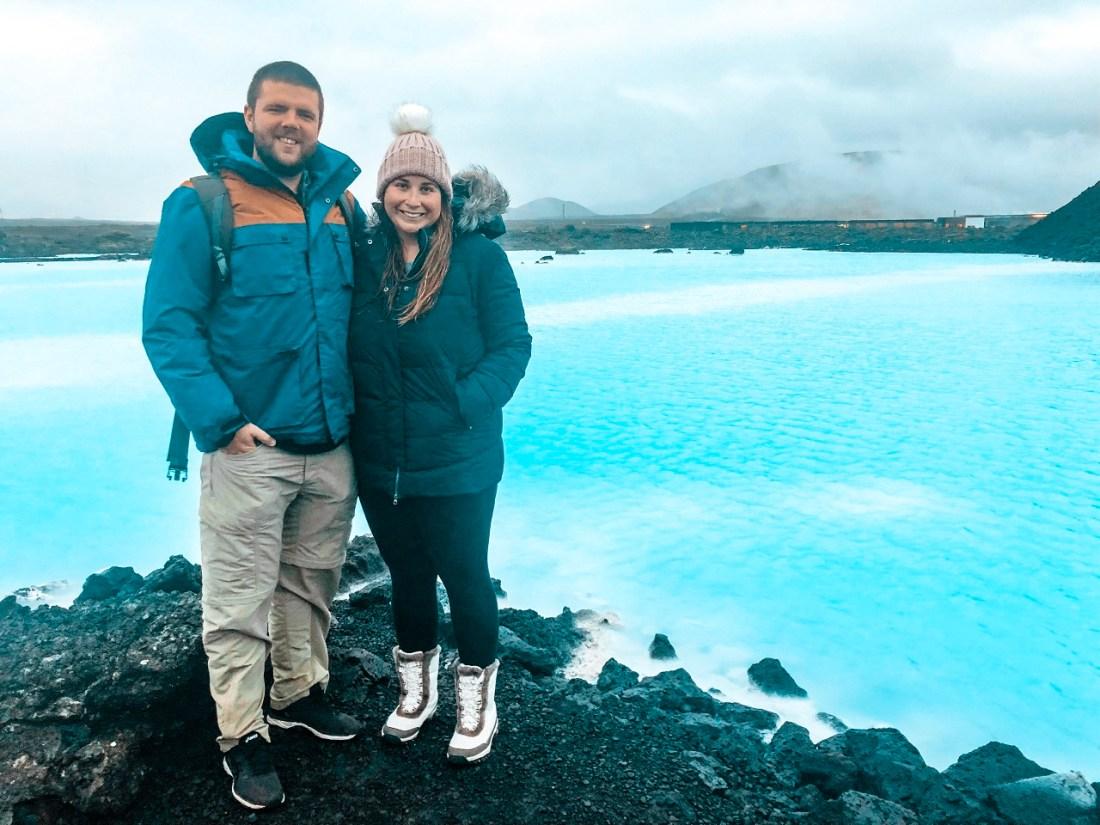 Simone and Dan with Blue Lagoon