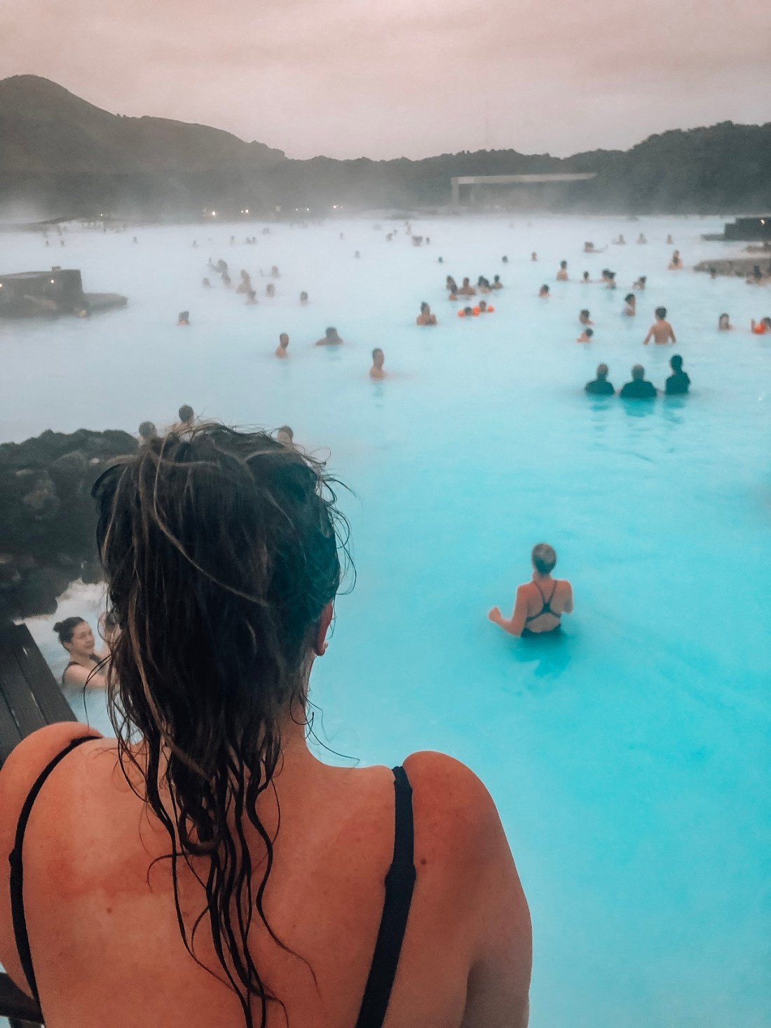Simone at Blue Lagoon Iceland