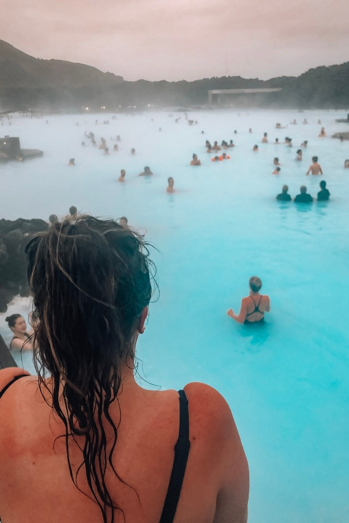 Visiting Iceland's Blue Lagoon in Winter