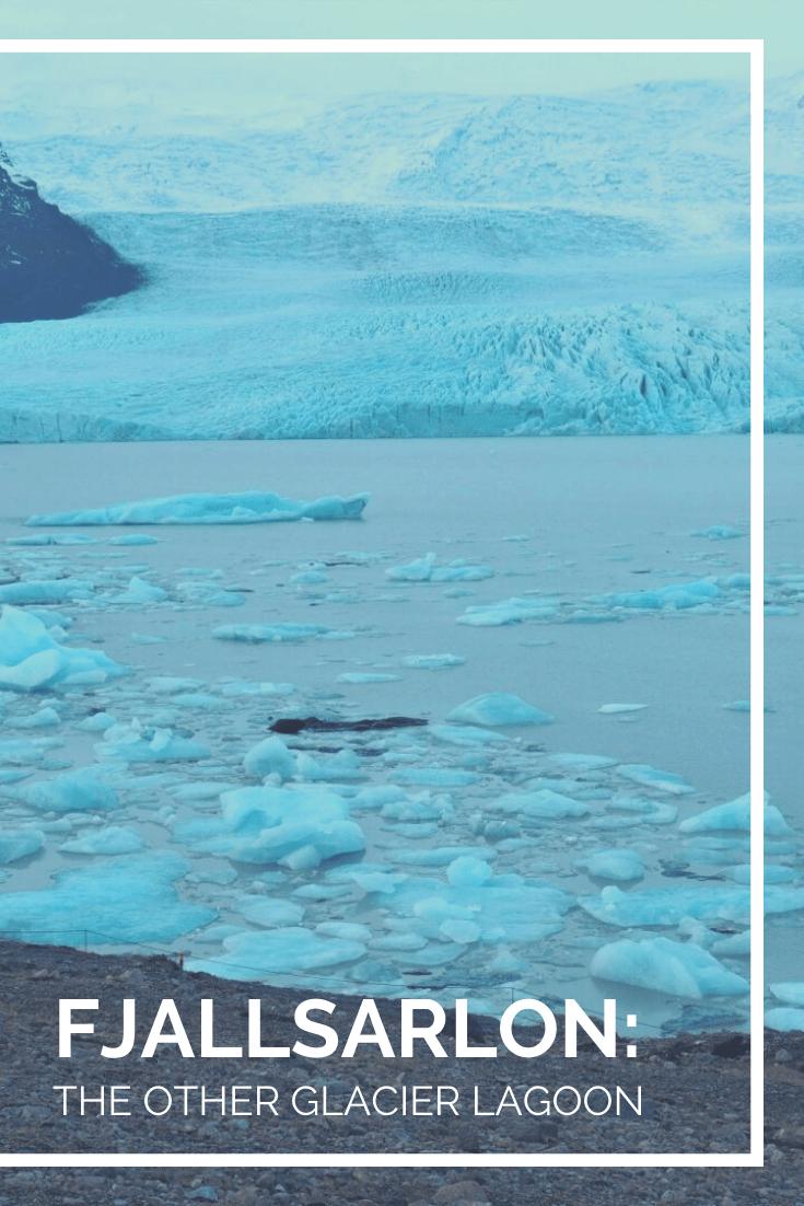 Fjallsarlon The Other Glacier Lagoon