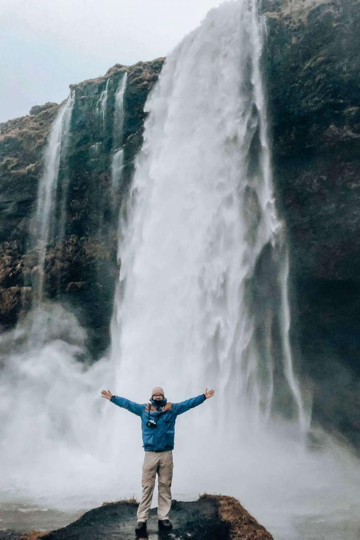 Seljalandsfoss: A waterfall you can walk behind