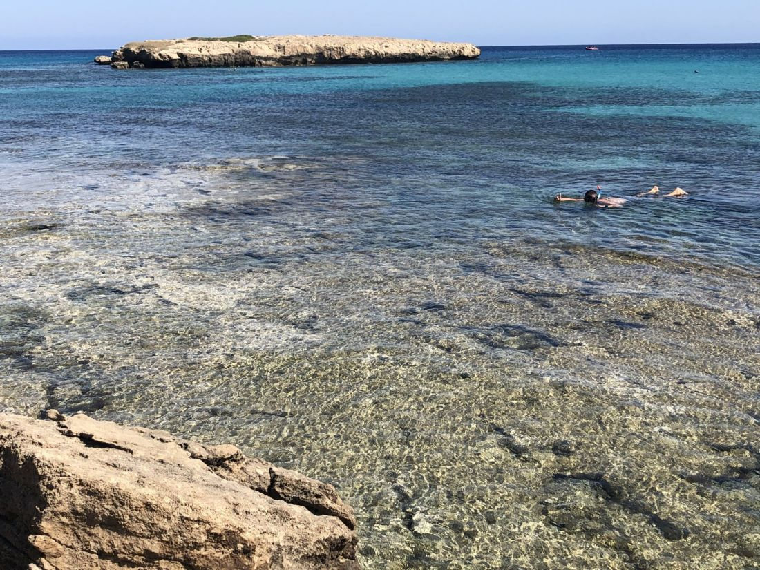 Snorkelling Blue Lagoon Akamas