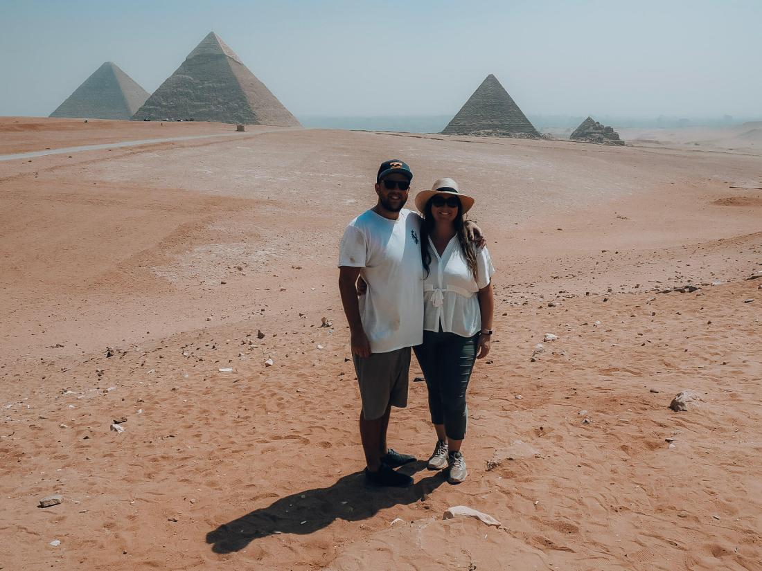 Simone and Dan at Pyramid Lookout