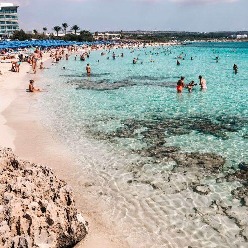 Makronissos Beach Cyprus