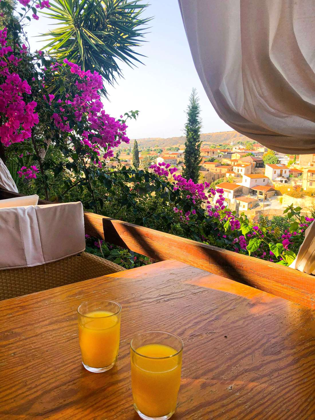 Cyprus-Villages-Agrotourism-Tochni-Breakfast-View