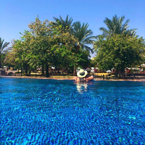 Simone Infinity Pool Movenpick Tala Bay