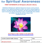 Free Meditation Workshop For Spiritual Awareness