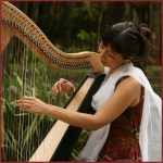 Angel Healing Harp at the Communal Healing Project