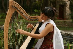 Andrea Cortez and Harp - Group Sound Healing Session and Class - Austin Texas