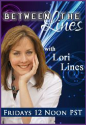 Between The Lines Radio Show - Lori Lines Psychic - Austin