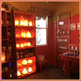 Showroom - Stand in the Light - meditation supplies - Himalayan Salt Lamps - Austin Texas