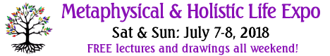 2018 Metaphysical and Holsitic Life EXPO Banner - July