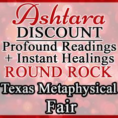 Ashtara Sasha White - Round Rock Metaphysical Fair - October 2018