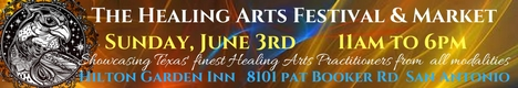 Healing Arts Festival And Market - San Antonio - February 2018 banner
