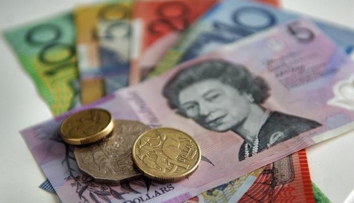 headline AUSTRALIAN DOLLAR 1