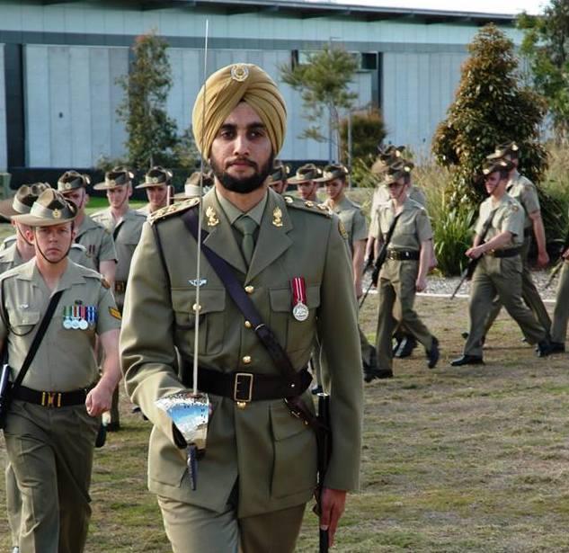 Lieutenant Amrinder Ghuman photo SME