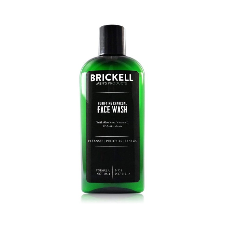 Brickell Men's Purifying Charcoal Face Wash for Men