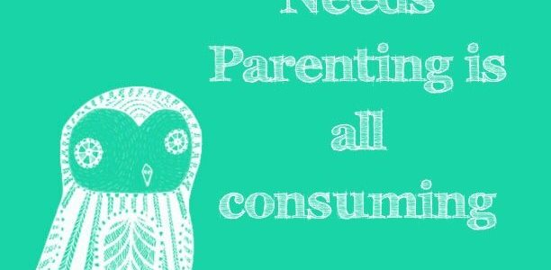 Special Needs Parenting is all consuming