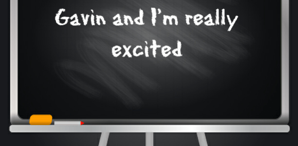 This is a HUGE week for Gavin and I'm really excited