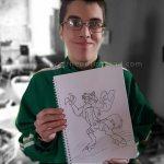 Amazing Art by a kid named Gavin