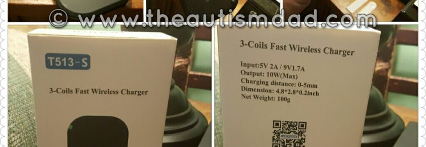 REVIEW: @Choetech 3-Coils Fast Wireless Charger