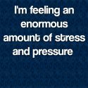 Divorce: I'm feeling an enormous amount of stress and pressure