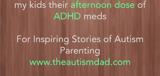 This is why I often choose not to give my kids their afternoon dose of #ADHD meds