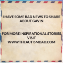 I have some bad news to share about Gavin